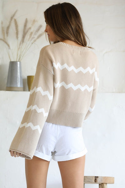 Noah cropped knit with Wild one cardigan