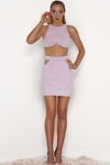 BELLA SKIRT-LILAC