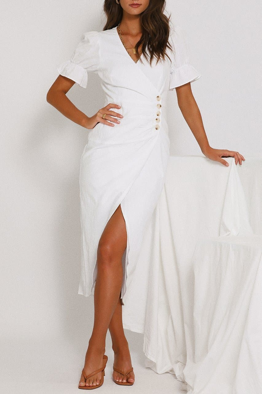 Lei Lei Dress - White