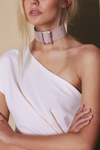 ENFORCE CHOKER - DUSTY PINK