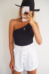 Carly Shorts - White