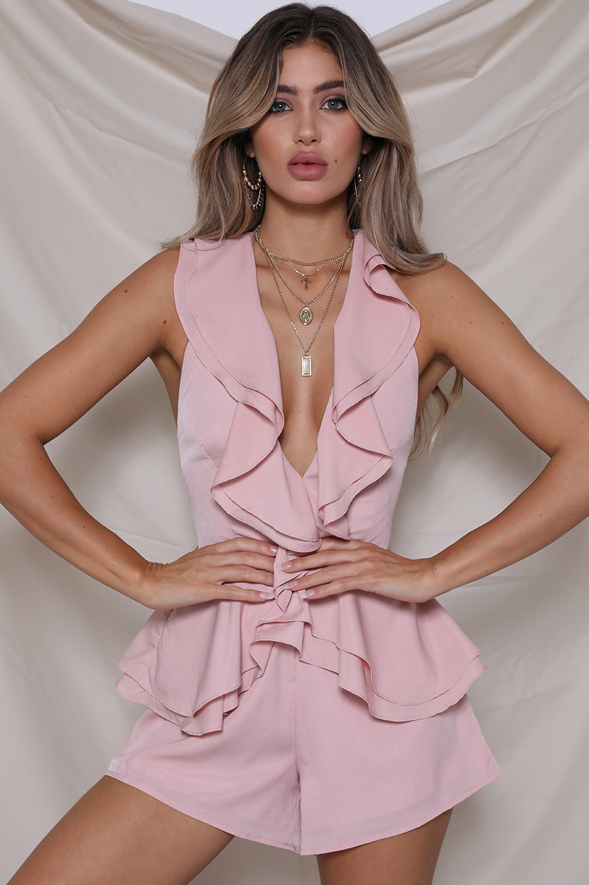 WILD CHILD PLAYSUIT - BLUSH