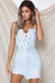 HEART RACIN' DENIM DRESS