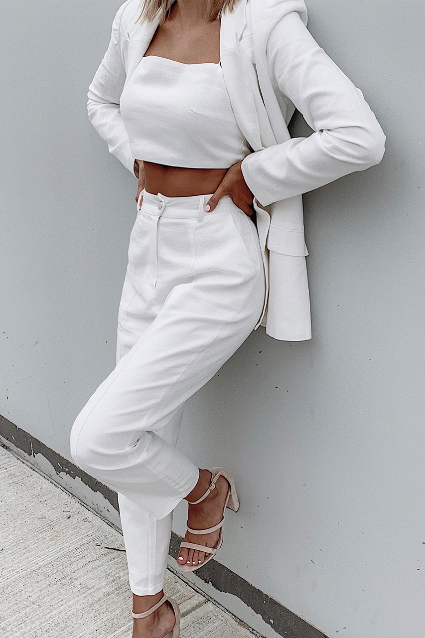 Ada Pants-White