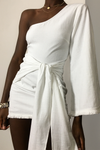 LIANA DRESS - WHITE