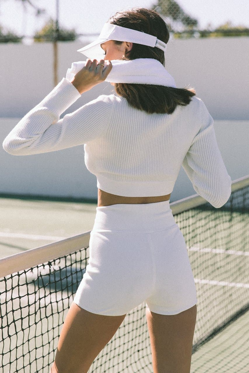 Aisha Shorts - White
