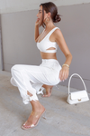 KIRA CROP TOP-WHITE