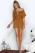 IVY PLAYSUIT - RUST