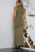NEMESIS MAXI DRESS - KHAKI