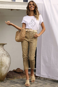 Wild Thang Jeans - Leopard