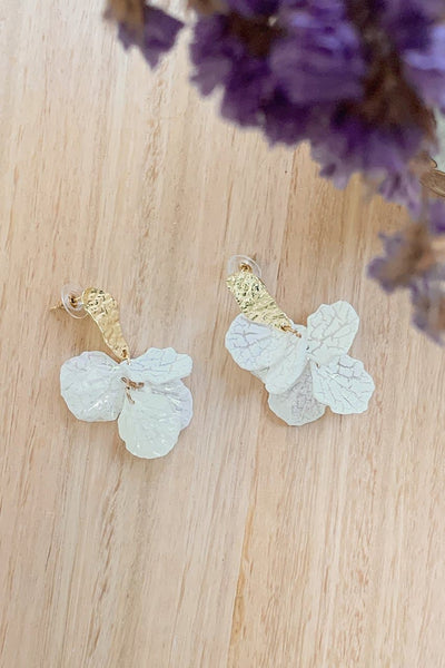 Petal Earrings - Gold