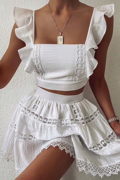 Isabelle Top - White