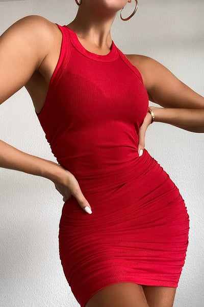 Essential Dress - Red