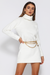 June Knit Dress - Bright White