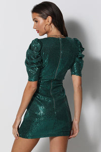 Chaska Mini Dress - Emerald