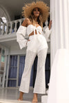 Cupid Pants - White