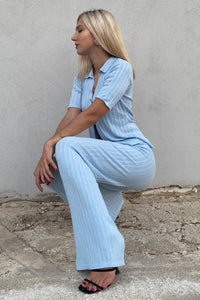 Golden Girl Pants - Sky Blue