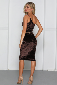 Carlita Dress - Chocolate