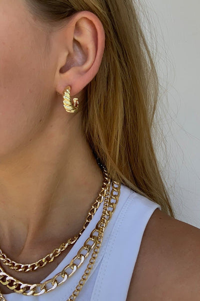 Astrid Earrings - Gold