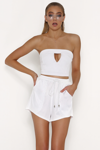 Reagan Top-White