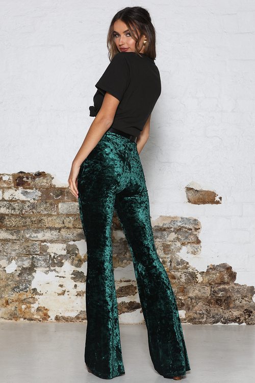 Kiki Flare Pants - Emerald