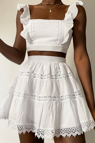 Isabelle Skirt - White