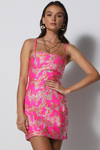 Charmaigne Dress - Pink
