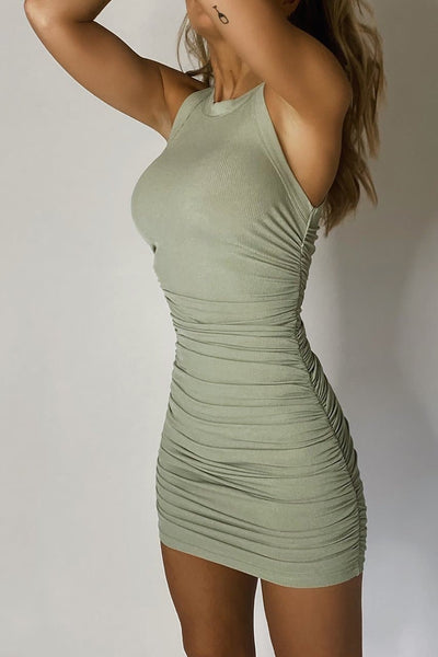 Essential Dress - Sage