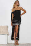 MIDSUMMER NIGHT SKIRT - BLACK