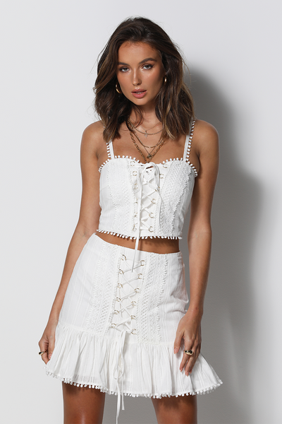 Fiji Top - White