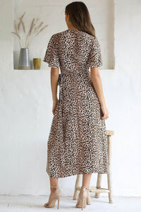 Billie Maxi Dress - Leopard