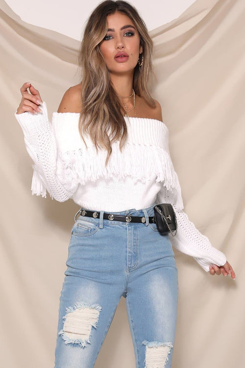 Cowgirl Knit - White