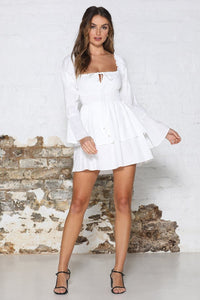 HARRIET DRESS - WHITE