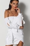 Tristy Dress - White