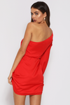 SELWYN DRESS-RED