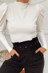 Apollo Rib Top - White