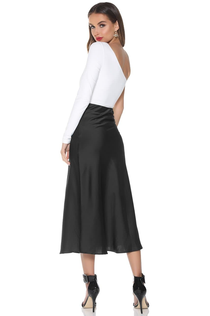 Powder Slip Skirt - Black