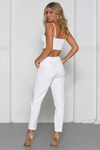 NEED WANT PANTS-WHITE