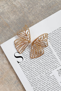 Butterfly Earrings - Gold