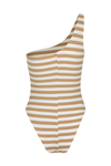 Chez Bodysuit - Tan Stripe