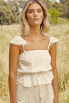 Claire Top - Ivory