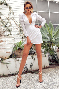 Lara Dress - White