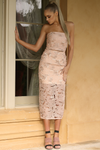 Botanica Skirt - Blush/Gold
