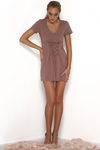 Rhiannon T-Shirt Dress - Hazel