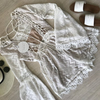 MADELINE PLAYSUIT-WHITE