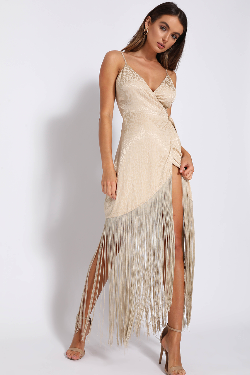 GATSBY DRESS-GOLD