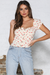 Sweet Maria Top - Heart Print