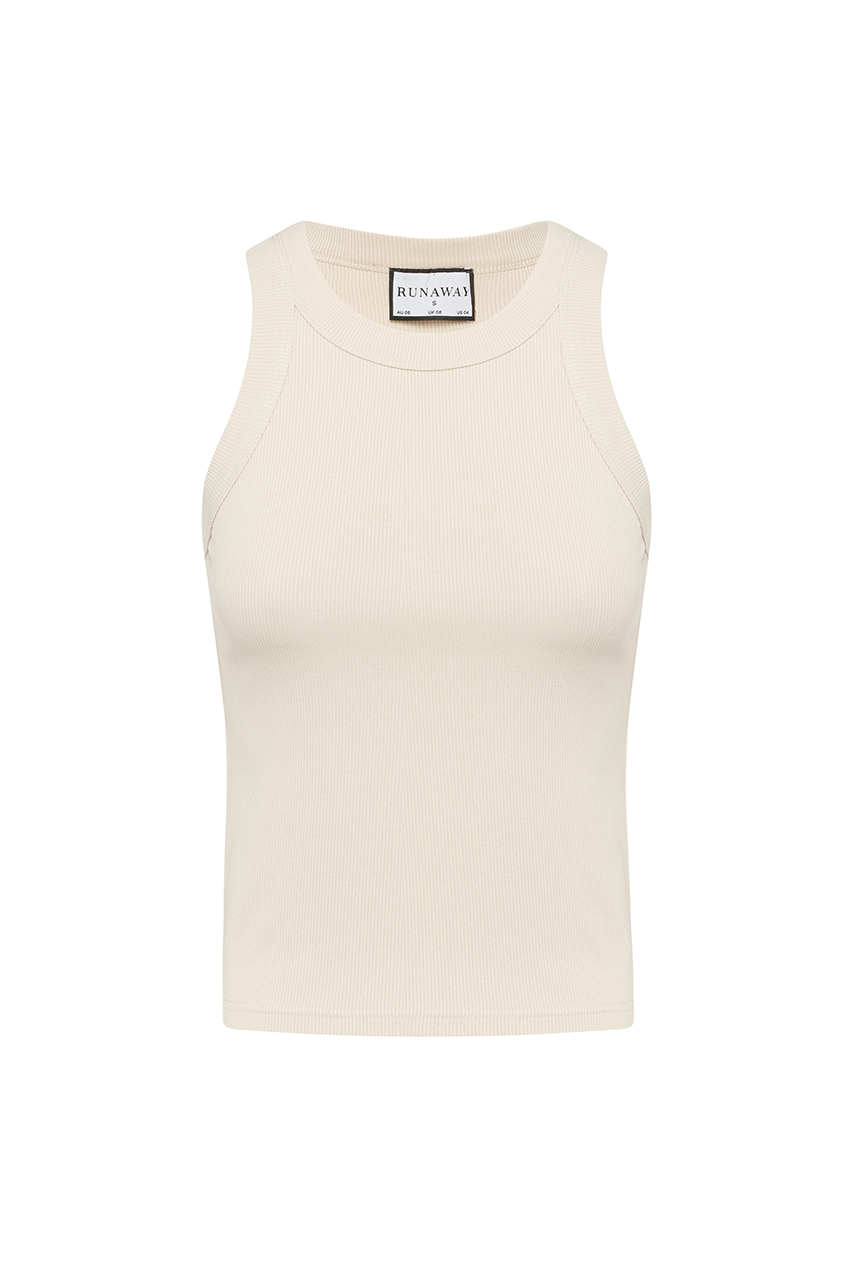 Staple Tank - Nude