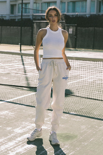 Racket Pants - Ecru