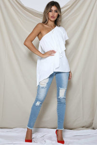 PILLOW TALK TOP - WHITE
